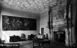 Fountains Abbey, Fountains Hall, The Chapel Room c.1955