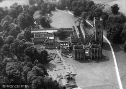 Fountains Abbey, From The Air 1947