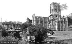 Fountains Abbey, From The River 1871