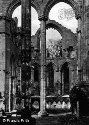 Fountains Abbey, Lady Chapel, Looking North c.1867