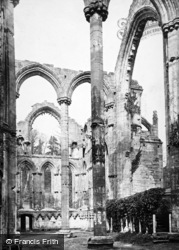 Fountains Abbey, Lady Chapel, Looking North East c.1867