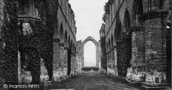 Fountains Abbey, Nave East c.1871