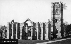 Fountains Abbey, North East c.1871