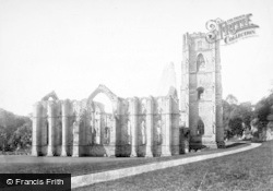 Fountains Abbey, North East c.1885
