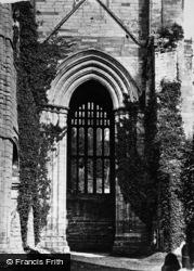 Fountains Abbey, North Transept c.1867