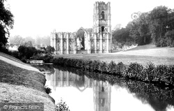Fountains Abbey, Ruins Of Abbey 1886