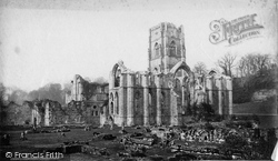 Fountains Abbey, South East c.1871