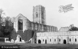 Fountains Abbey, South West 1895