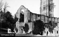 Fountains Abbey, South West c.1867