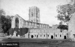 Fountains Abbey, South West c.1890