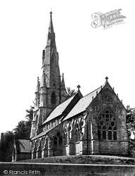 Fountains Abbey, St Mary's Church, South East c.1874