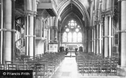 Fountains Abbey, Studley Church c.1885