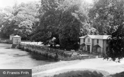 Fountains Abbey, Studley Park East, Abbey Entrance c.1955