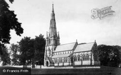 Fountains Abbey, Studley Royal Church c.1885
