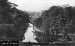 Fountains Abbey, Surprise View c.1885