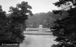 Fountains Abbey, Temple Of Piety 1914