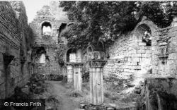 Fountains Abbey, The Abbey Ruins c.1955