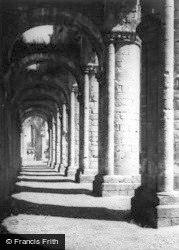 Fountains Abbey, The Cloisters c.1955