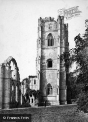 Fountains Abbey, The North Tower c.1900