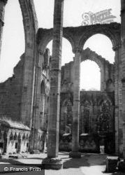 Fountains Abbey, The Transept c.1955