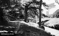 Fountains Abbey, View From The River c.1955