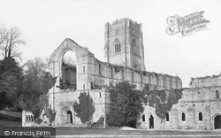 Fountains Abbey, West c.1871