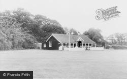 Cricket Ground And Pavilion c.1955, Four Elms