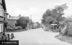 Cross Roads c.1955, Four Elms