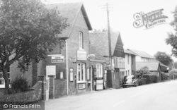 Shop In Four Elms Road c.1955, Four Elms