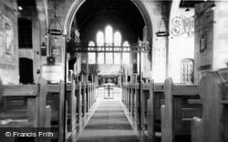 St Paul's Church, Interior c.1955, Four Elms