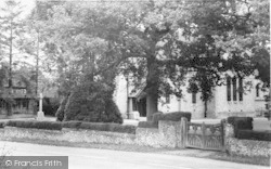 Four Elms, The Church From The Cricket Ground c.1955
