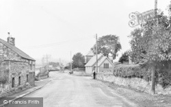 Fourstones, The Village c.1955