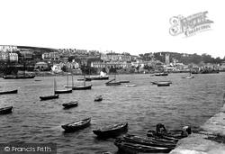 Fowey, From Polruan 1898