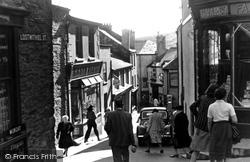 Fowey, Lostwithiel Street c.1955