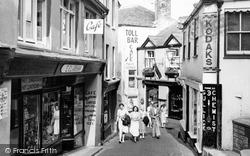 Fowey, Lostwithiel Street c.1960