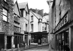 Fowey, Lugger Hotel 1908