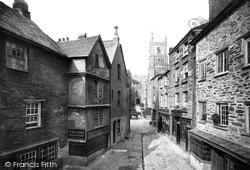 Fowey, Market Street 1888