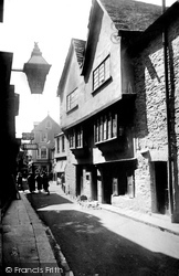Fowey, Old Houses In Fore Street c.1930