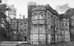 Fowey, Place Castle c.1876