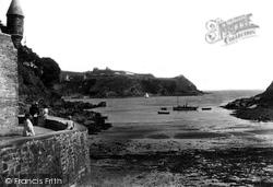 Fowey, Ready Money Beach 1908