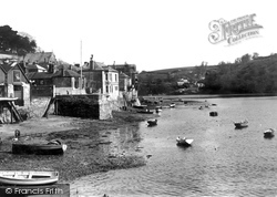 Fowey, River From The Town Quay 1933