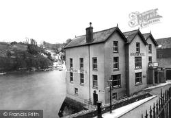 Fowey, Riverside Hotel 1933