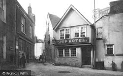 Fowey, Ship Hotel 1888