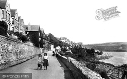 Fowey, St Catherine's Hotel And Tower Park 1908