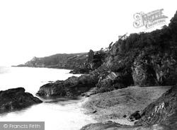 Fowey, The Castle 1888