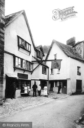 Fowey, The Lugger Inn 1888