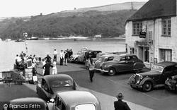 Fowey, The Town Quay c.1960