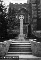 Fowey, War Memorial 1920