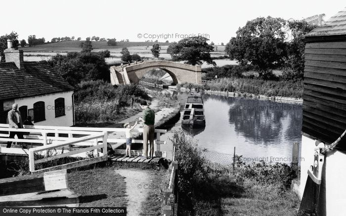 Foxton, The Grand Union Canal c.1960