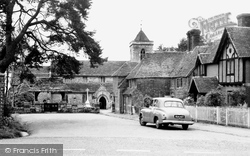 Framfield, Church Approach c.1955